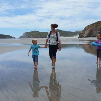NZ Wharariki Beach