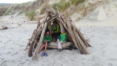 NZ Tipi auf Otega