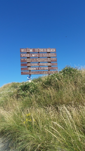 NZ Oreti Beach