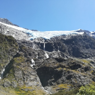 NZ Rob Roy Glacier