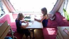 NZ Wohnwagen Schule