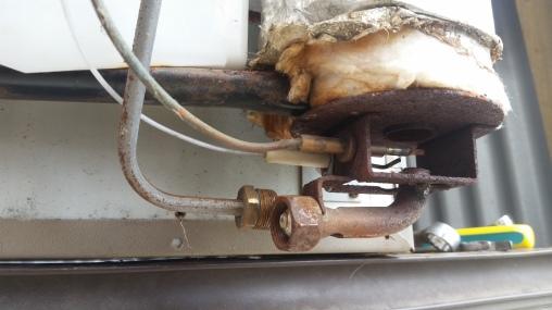 NZ Gasbrennerdüse reinigen