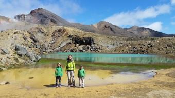 NZ Tongariro See bunt