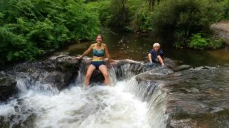 NZ Kerosine Wasserfall