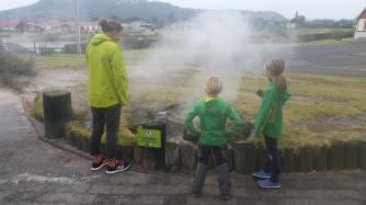 NZ Rotorua Dampf