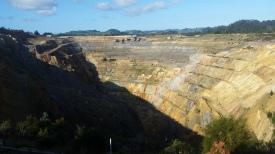 NZ Waihi Goldmine