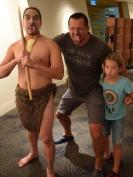 NZ Auckland Museum Zunge raus