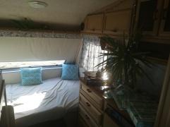 NZ Wohnwagen Doppelbett
