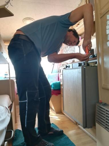 NZ Bordmechaniker at work
