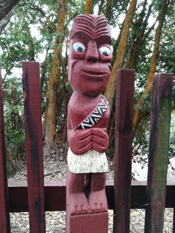NZ Maori Figur