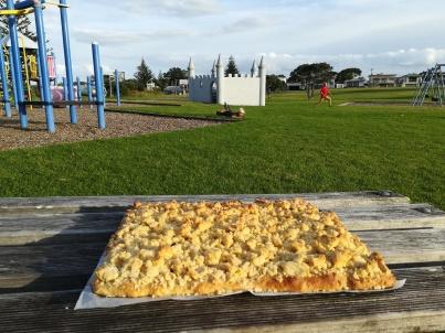 NZ Waihi Streuselkuchen