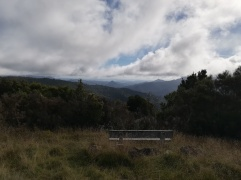 NZ Crosbie Hut Ausblick