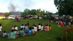 Vanuatu Osterfeuer
