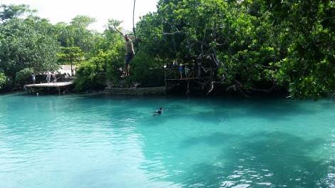 Vanuatu Blue Lagoon Jumping