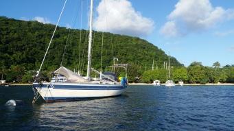 Vanuatu Amanda im Hafen
