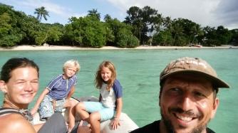 Vanuatu Fahrt zum Hafen