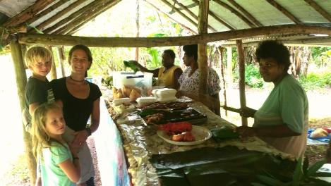 Vanuatu Essensstand