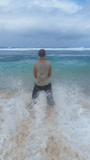 Tanna Blick aufs Meer