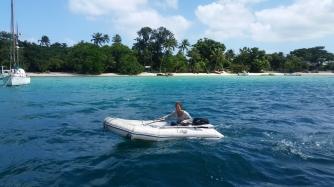 Vanuatu Motorbootfahren