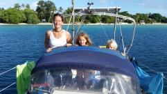 Vanuatu Segelbootfreude