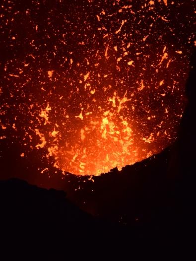 Tanna helle Eruption