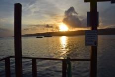 Vanuatu Mele Sonnenuntergang