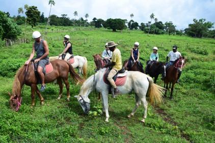 Vanuatu Reiten Gruppe
