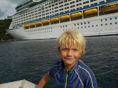 Vanuatu Kreuzfahrtschiff