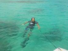 Vanuatu Dinghi ziehen