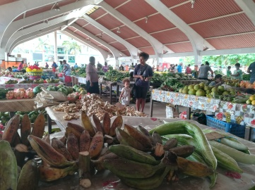 Vanuatu Markthalle