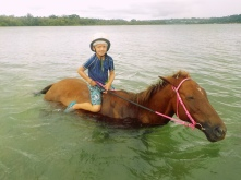 Vanuatu Valentin im Wasser