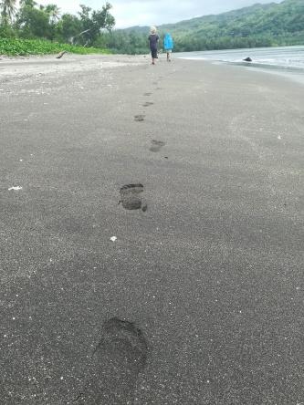 Tanna schwarzer Sand