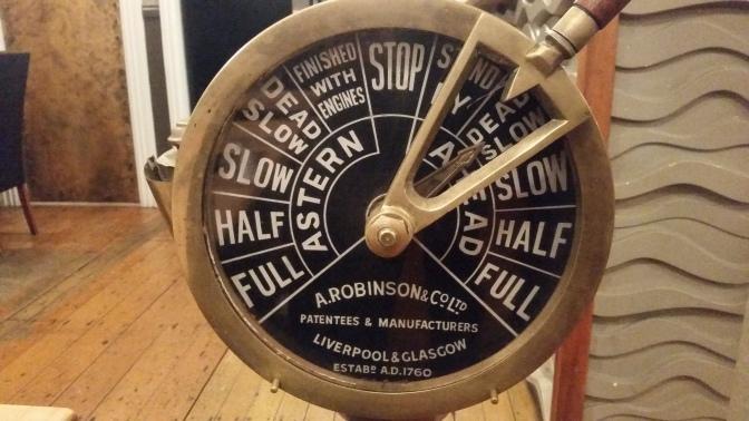 """NZ Maschinentelegraph in """"The Landing"""""""