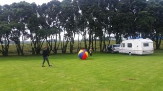 NZ Ballspielen nach dem Regen