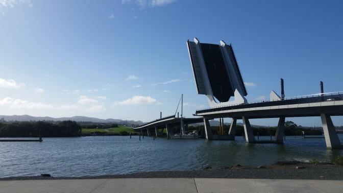 NZ Whangarei Klappbrücke
