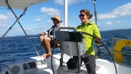 NZ Hobby-Steuerfrau