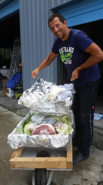 NZ Hangi-Fleisch