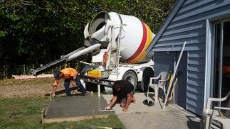 NZ Beton glattstreichen