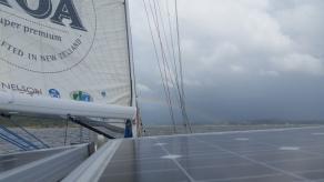 NZ Regenbogen auf See