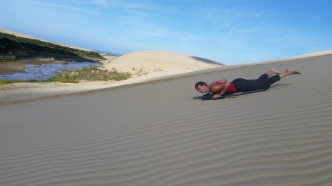 NZ Vollgas due Duene runter