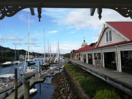 NZ Whangarei Uferpromenade