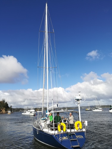 NZ Caro Vita im Hafen