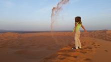 Glücklich in den Dünen