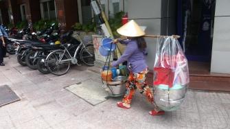 Saigon, wandelnde Garkueche