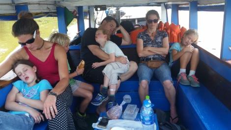 Saigon, Bootsfahrt zum Schlafen