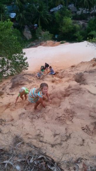Mui Ne, Sandklettern