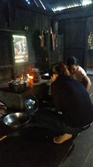 Kochen im Langhaus