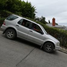Otto in der steilsten Straße der Welt