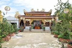 Mekong, Pagode
