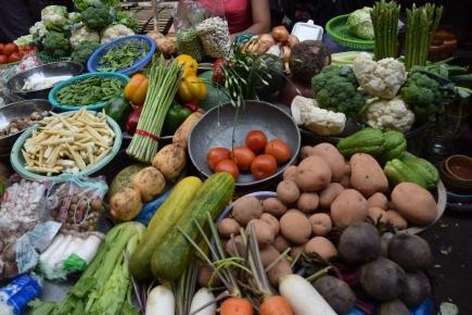 Cholon, riesige Auswahl an frischen Lebensmitteln
